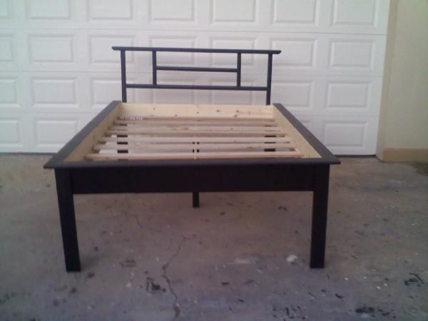 Customize it hawaii platform beds the aloha boy for Height of platform bed