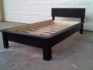 twin platform bed. Twin Platform Bed